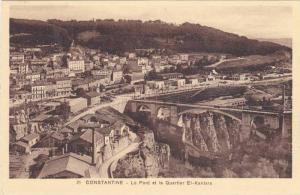 Le Pont Et Le Quartier El-Kantara, Constantine, Algeria, Africa, 1900-1910s