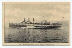 Steamship  WASHINGTON IRVING  Hudson River Day Line, New York 00-10s