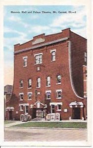 IL Mt Carmel Masonic Lodge & Palm Theatre