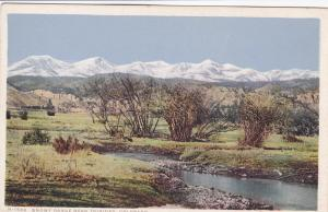 Fred Harvey H-1558 ; Snowy Range near TRINIDAD , Colorado , 10s-20s