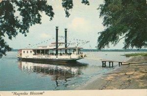 PASCAGOULA , Mississippi , 1950-70s ; Steamboat MAGONLIA BLOSSOM