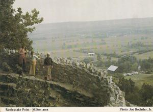 Milton Rattlesnake Point Canada Specator Newspaper Postcard