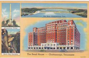 Tennessee Chattanooga The Read House Curteich