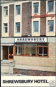 lancashire, BLACKPOOL, Shrewsbury Hotel (1970s)