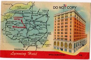 Lycoming Hotel, Williamsport PA