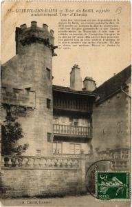 CPA Luxeuil-les-Bains - Tour du Bailli - Anciennement Tour d'Ebroin (636165)