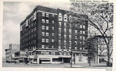 Hotel Lincoln-Douglas Quincy IL Unused