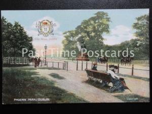 c1906 - Phoenix Park, Dublin - Heraldic Coat of Arms