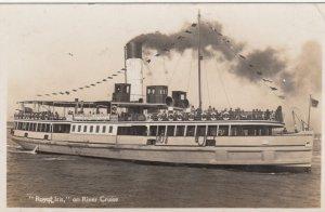 RP; Royal Iris on River Cruise , 1930s