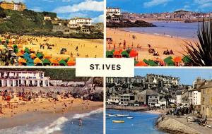 Vintage Postcard CORNWALL St. Ives 4 Split Multiview by NPO #B7188