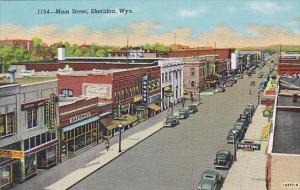 Main Street , SHERIDAN , Wyoming , 30-40s