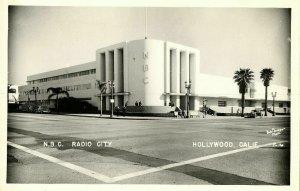 Hollywood, Cal., N.B.C. Radio City (1950s) RPPC Postcard