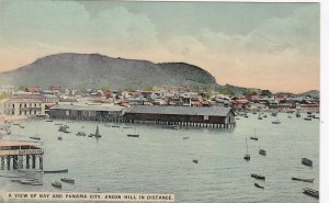Panama City View Of Bay With Ancon Hill In The Distance sk4487