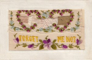 Embroidered Forget Me Not , 1914-18 ; Hands