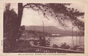 France Bandol Le Port et les Palmiers
