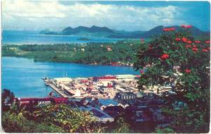 Island of Santa Lucia, West Indies, Caribbean , 1957 Chrome