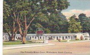 South Carolina Walterboro The Friendly Motor Court