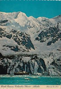 The Magnificent Columbia Glacier Prince William Sound South Central Alaska