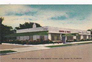 Florida Miami Edith & Fritz Seafood Restaurant North Miami Avenue sk3124