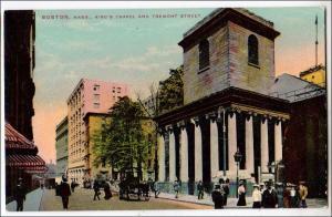 King's Chapel & Tremont St. Boston MA