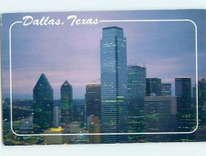 1980's DOWNTOWN BUILDINGS Dallas Texas TX i0749
