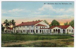 Fort McClellan, Ala., Recreation Hall