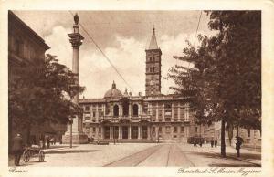 Italy Roma Facciata di S Maria Maggiore Postcard