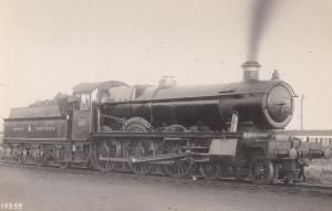 GWR Great Western 4902 Train Aldenham Hall Old Real Photo Postcard