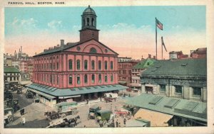 USA Boston Massachusetts Faneuil Hall 03.31