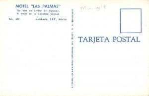 Matehuala Mexico Motel Las Palmas Mini Golf Vintage Postcard JA7471848