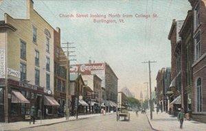 BURLINGTON , Vermont , 1900-10s ; Church Street