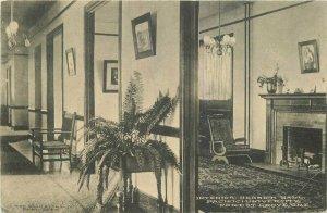 Forest Grove Oregon Pacific University Interior Hall 1912 Postcard 7651