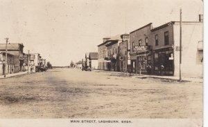 RP: LASHBURN , Saskatchewan , Canada , PU-1932 ; Main Street
