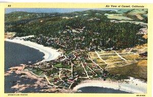 93 Air View of Carmel, California