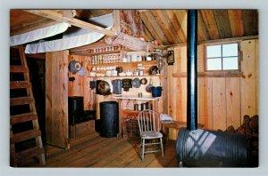 Kitty Hawk NC, Wright Brothers Living Quarters, North Carolina Chrome Postcard