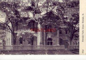 1908 RIVERDALE PUBLIC SCHOOL, ILLINOIS