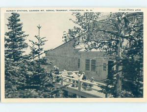 1930's SUMMIT STATION Franconia New Hampshire NH H7155