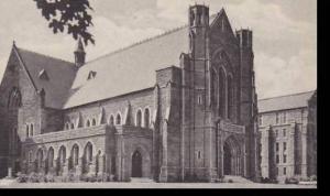 Massachusetts South Hadley Mount Holyoke College Abbey Memorial Chapel Albertype