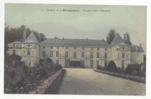 France Chateau Malmaison Facade et Cour d'Honneur L'Abeille Vntg c1910 Postcard