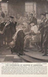 CAMBRIDGE , England , 1907 ; Conferring of Degrees