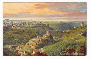 Manderscheid mit beiden Burgen, Austria, 00-10s