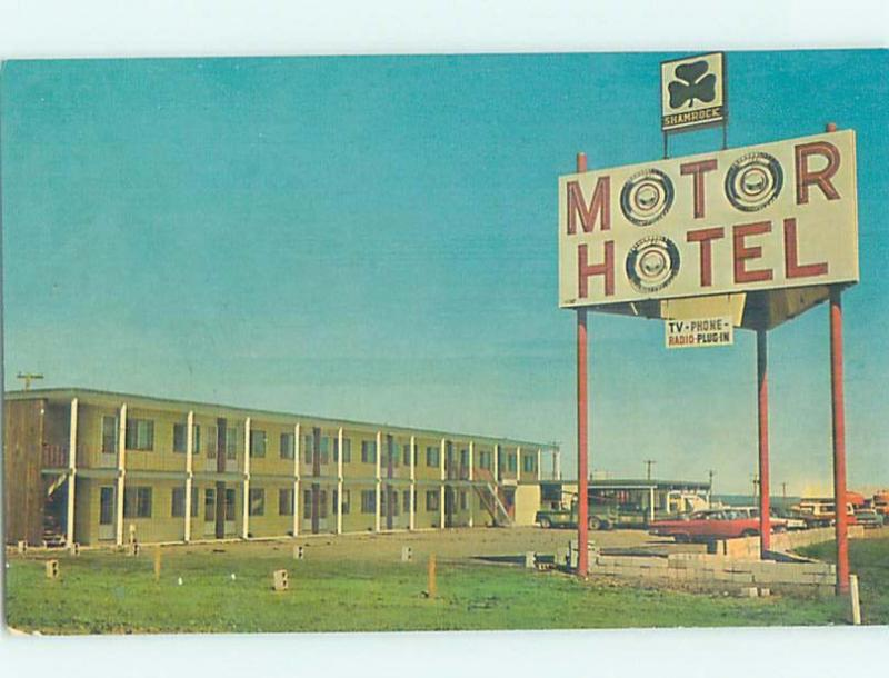 Unused Pre-1980 MOTEL SCENE Valleyview In Greenview District Alberta AB G6984