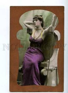 184750 ART NOUVEAU Greece Goddess Vintage PHOTO NPG PC