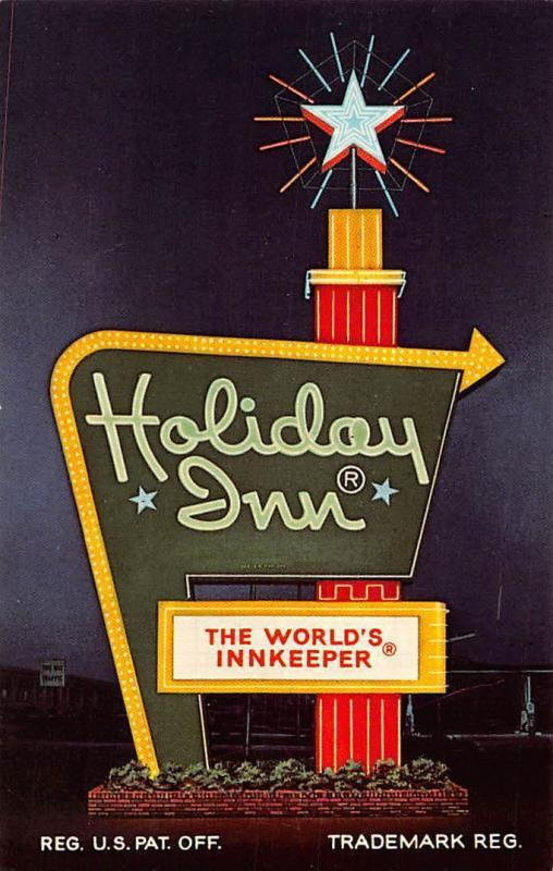 USA Michigan Holiday Inn Traverse City The World's Innkeeper Sign