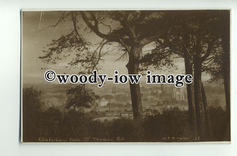 tp8853 - Kent - View of Canterbury from St. Thomas' Hill, W.F.M.23 - postcard
