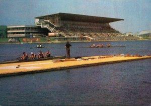 Russia Moscow The Krylatskoye Rowing Canal