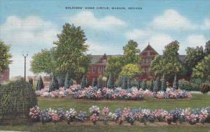 Soldiers Home Circle Marion Indiana 1951