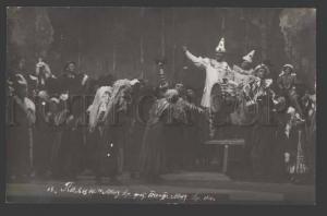 113671 PAGLIACCI Russian OPERA STAGE Red Cross PHOTO 1916 RARE