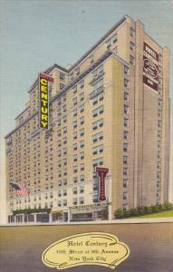 Hotel Century, NEW YORK CITY, New York, PU-1942