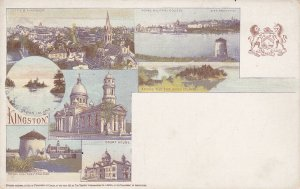 KINGSTON , Ontario , Canada , 1890s ; Multiview